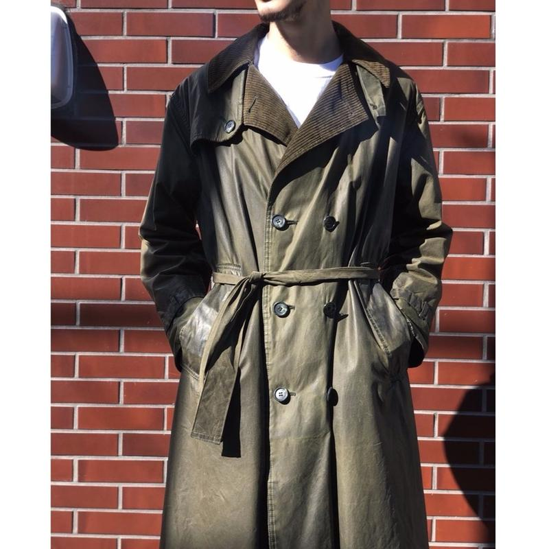 90's Barbour WHITLEY TRENCH COAT  (spice)