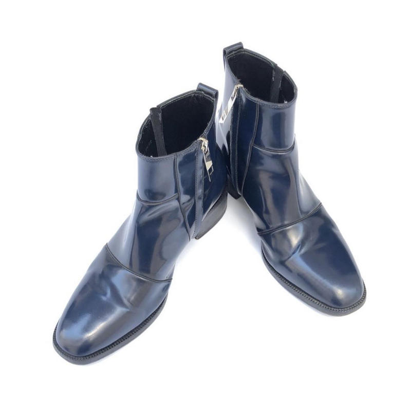"""Dior Homme 09AW """"Side Zip Boots"""""""