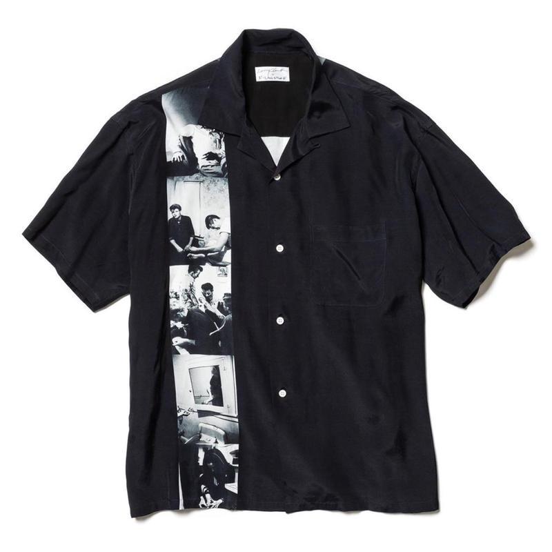 """F-LAGSTUF-F x Larry Clark /  """"S/S SHIRTS"""" (black)"""