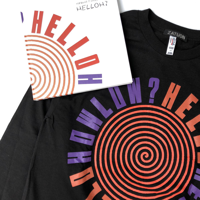 NIRVANA T-SHIRT BOOK !  「HELLOH?」Special limited box set 【期間・数量限定】