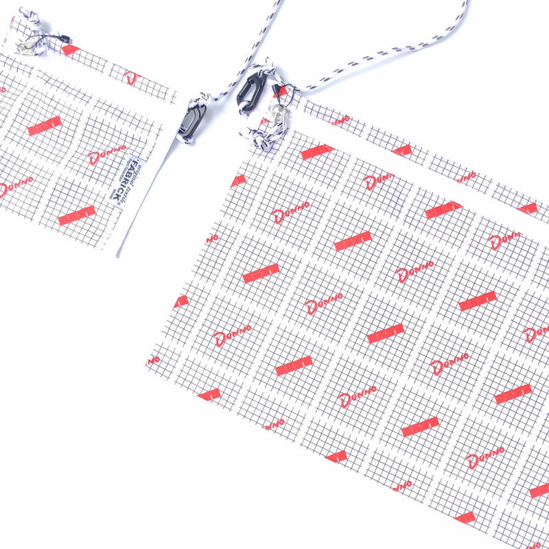 Dunno x FABRICK / FLAT 2WAY POUCH  (L)