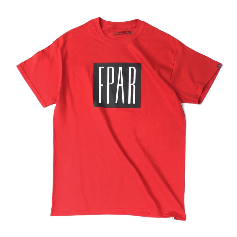 FORTY PERCENT AGAINST RIGHTS / BASE T-SHIRT (red)