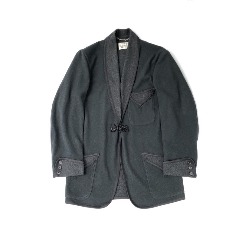 WACKO MARIA / SMOKING JACKET (type-1,green)