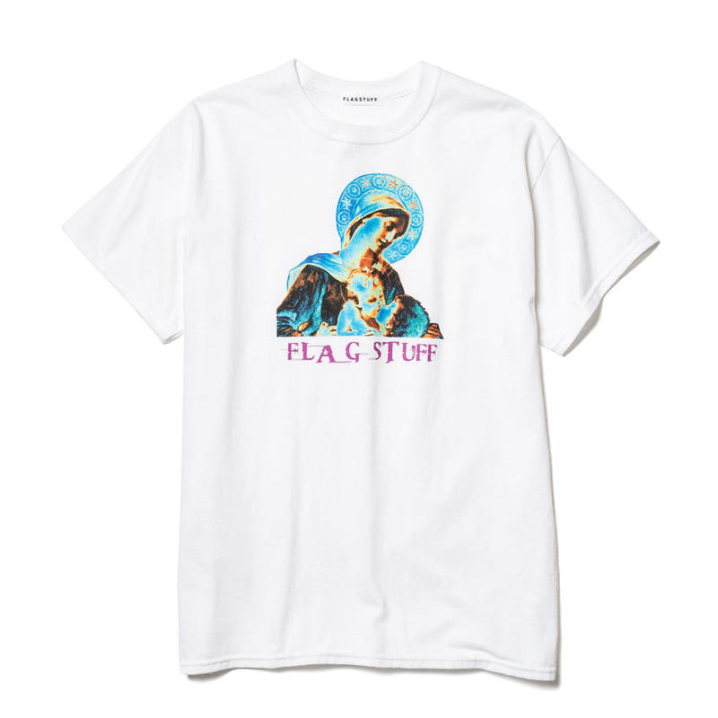 "F-LAGSTUF-F /"" Wish""Tee  (white)"