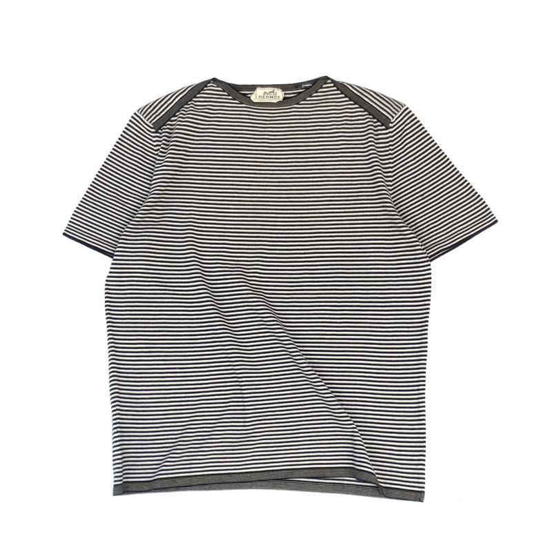 HERMES / Border T-shirt (Hi brand hurugi)