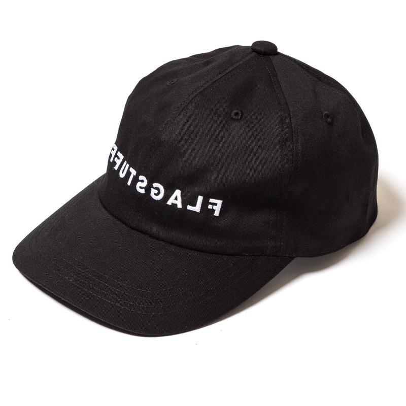 "F-LAGSTUF-F / ""F-LAGSTUF-F"" INSIDE OUT LOGO CAP (black)"