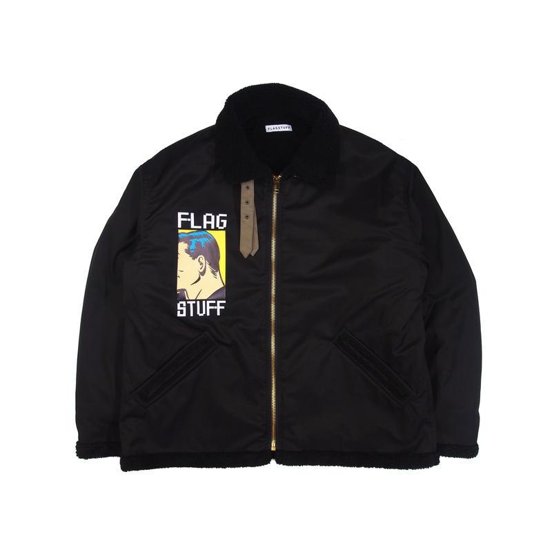 F-LAGSTUF-F / nylon B-3 (black)