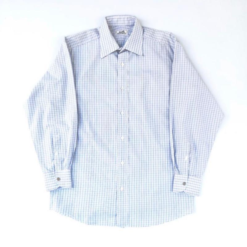 HERMES / L/S Check Shirt