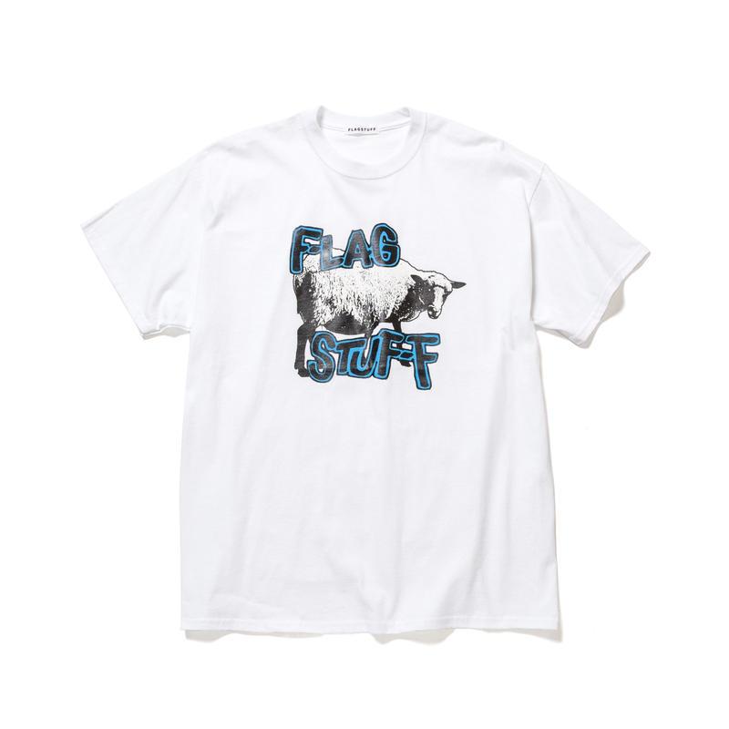 "F-LAGSTUF-F / ""Ram"" Tee (white)"