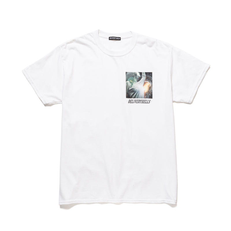 "Delivery Hells / ""Space"" Tee (white)"