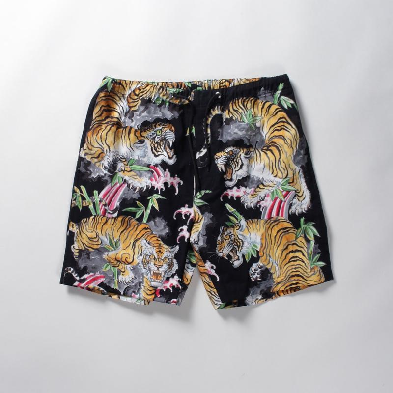 WACKO MARIA x TIM LEHI / HAWAIIAN SHORTS (black)