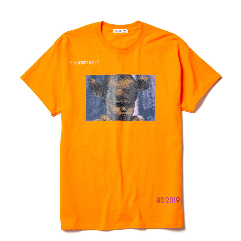"F-LAGSTUF-F /"" Angry""Tee  (orange)"