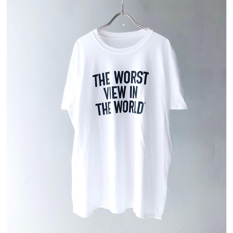 """""""THE WALLED OFF HOTEL"""" Tee (white) (spice)"""