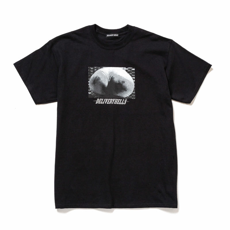 "Delivery Hells / ""Buttocks"" Tee (black)"