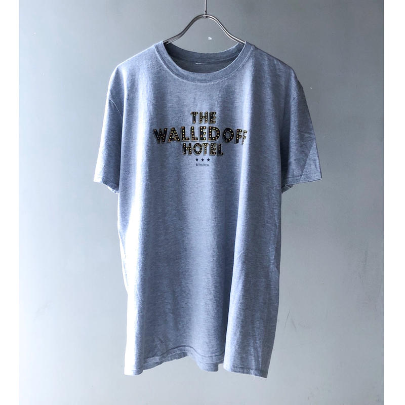 """""""THE WALLED OFF HOTEL"""" Tee (gray) (spice)"""