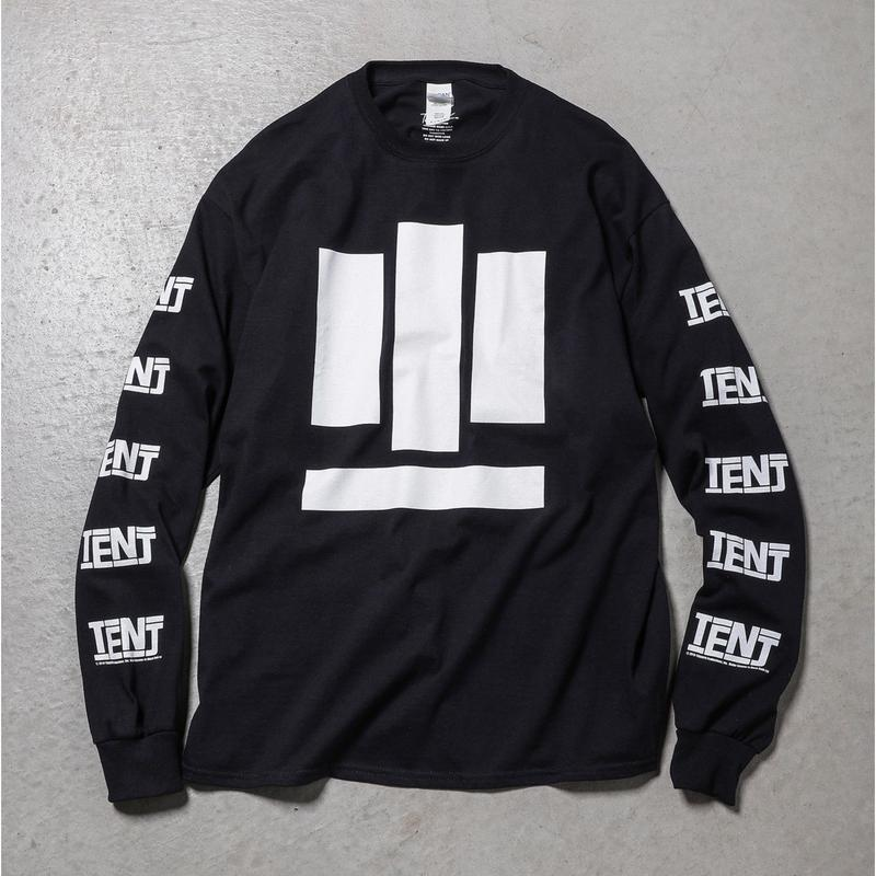 "Tenjinyu / 10th ""BUSINESS AS USUAL"" L/S Tee (black)"