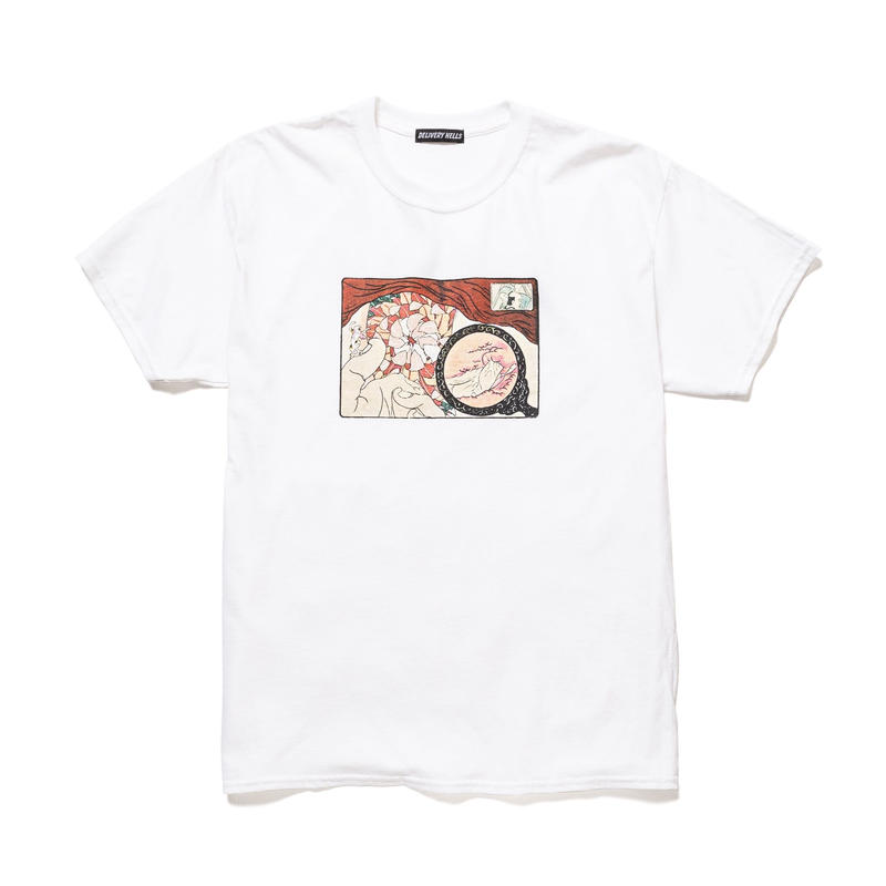 """Delivery Hells / """"地獄特急便"""" Tee (white)"""