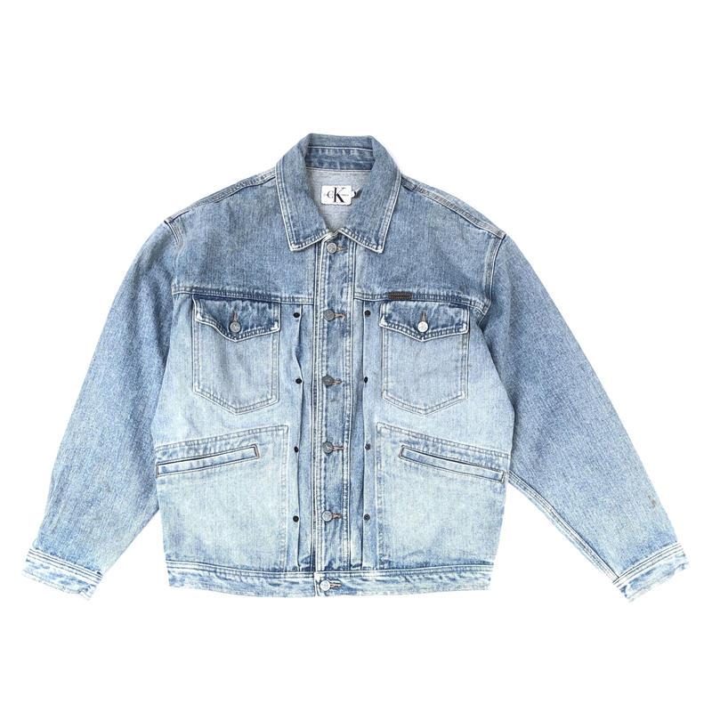 Calvin Klein / Denim Jacket   (L)  (spice)
