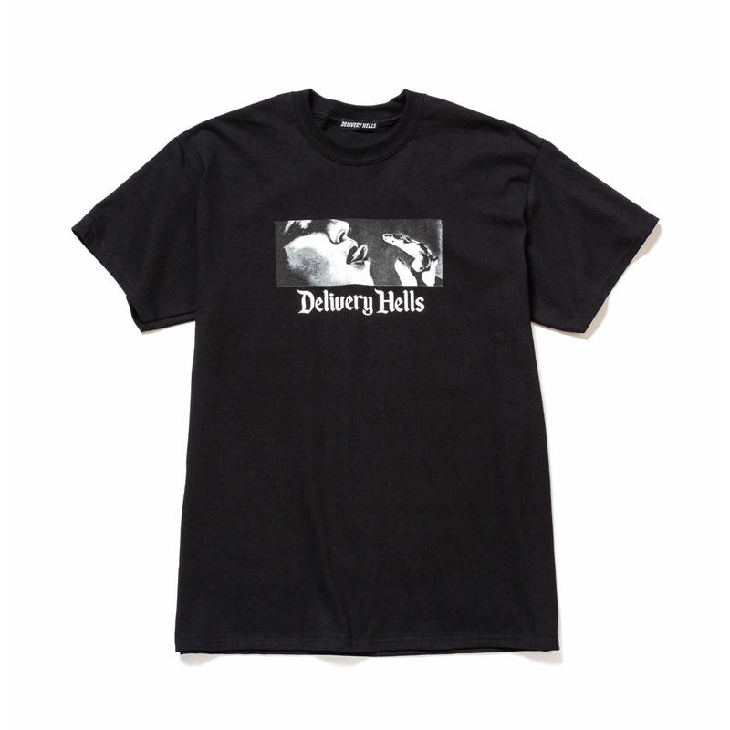"Delivery Hells / ""HELL BOX"" Tee (black)"