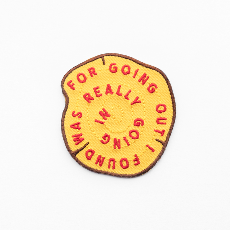 Kimberlin Co. / FOR GOING OUT PATCH