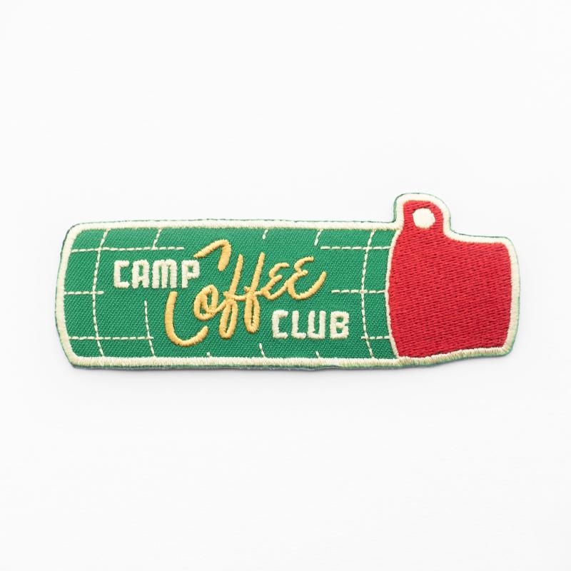 Kimberlin Co. / CAMP COFFEE CLUB PATCH