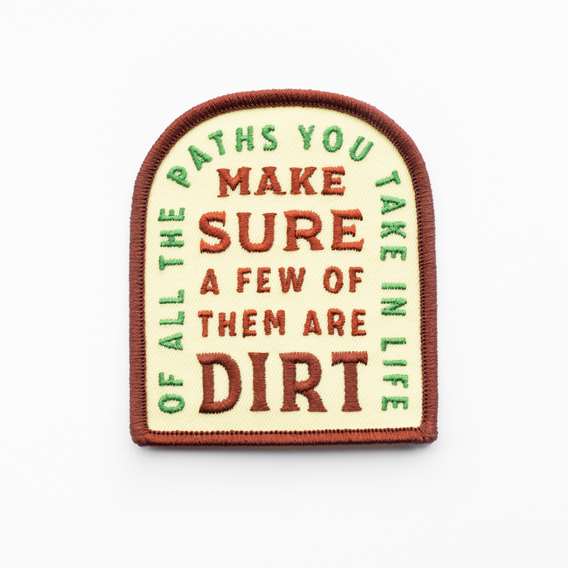 Kimberlin Co. / OF ALL THE PATHS PATCH