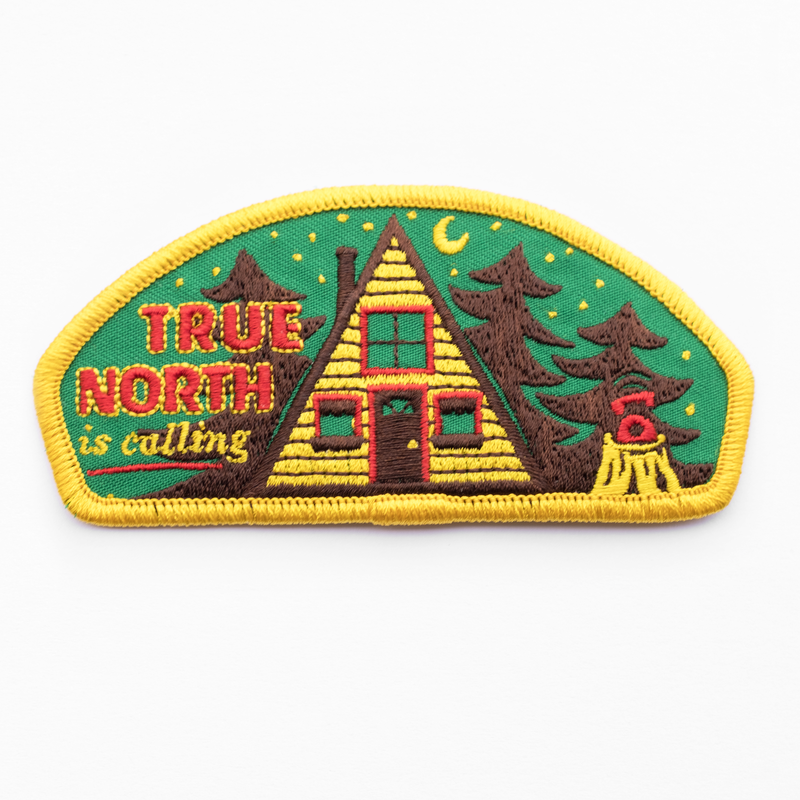 Kimberlin Co. / TRUE NORTH IS CALLING PATCH