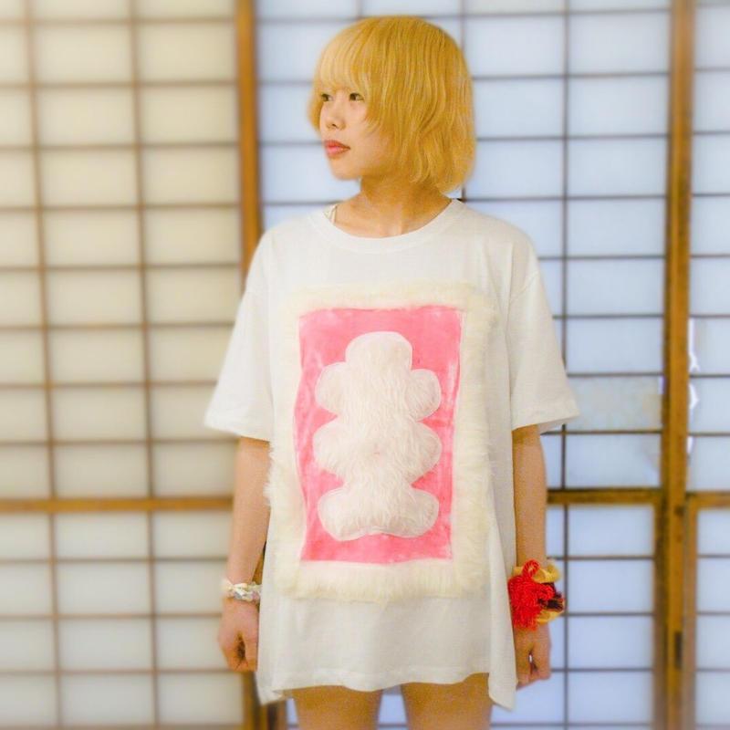 大入袋Tシャツ〈pink〉