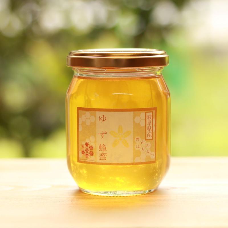 【国産はちみつ】無農薬ゆず農家近隣で採蜜<採蜜期6月上旬>堀養蜂園の『ゆず蜜』/120g