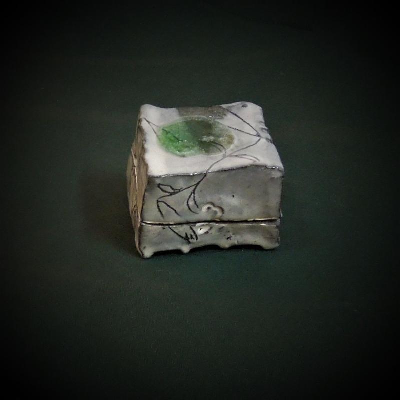 斑雪香合《S茶k1》