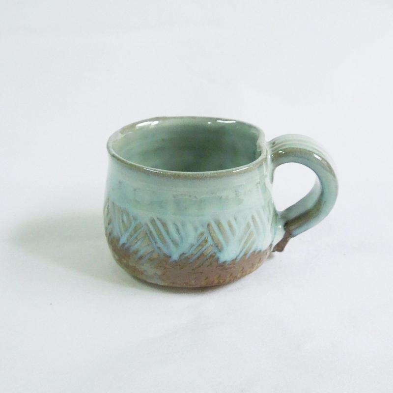 乳濁釉ミニカップ《S飲2u3》