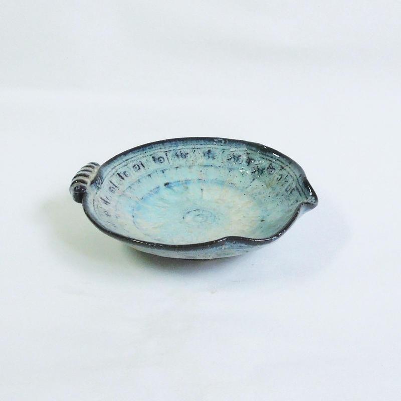 乳濁釉片口珍味皿《S皿1u2》