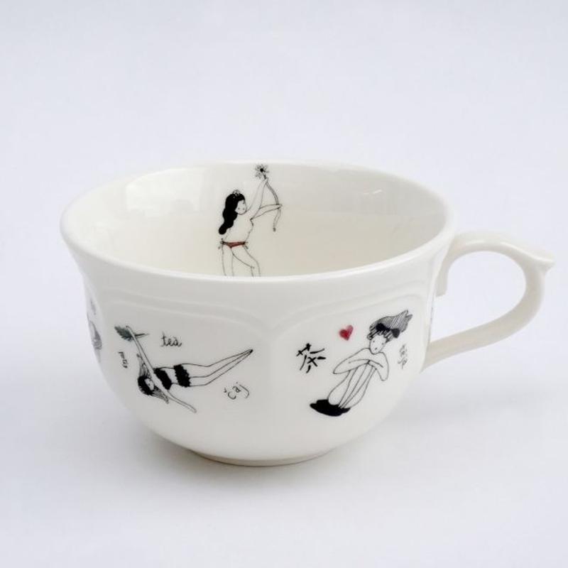 〈NADiff × MAKIKO TANAKA〉TEA CUP