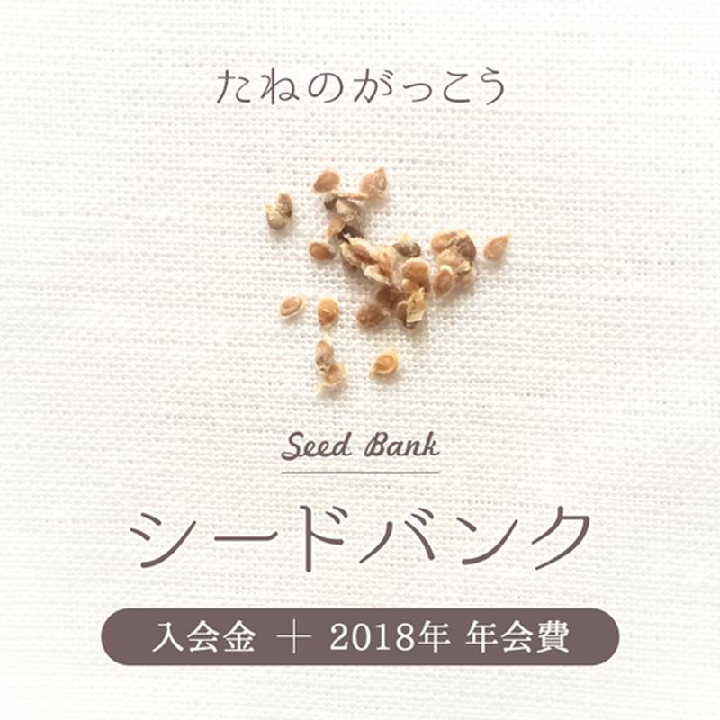 シードバンク「たねのがっこう」入会金+2019年3ヶ月分年会費