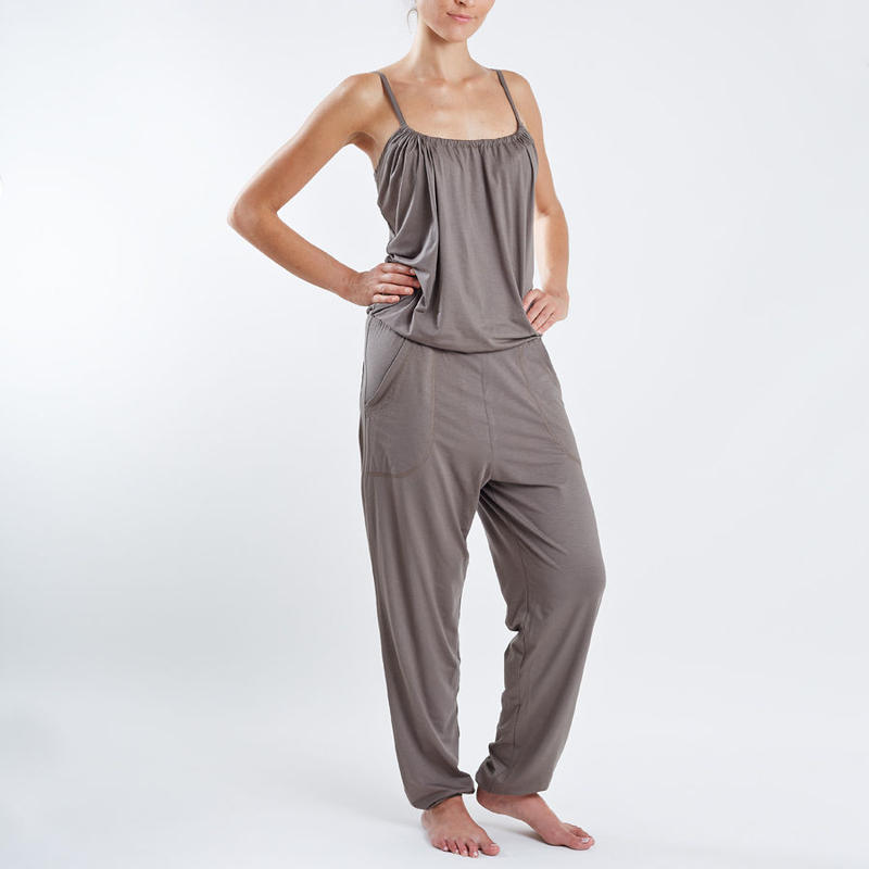 SUNDAY IN BED jumpsuit MELISSA olive