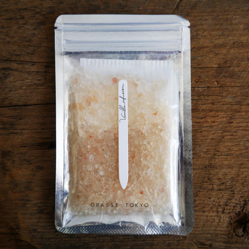 GRASSE TOKYO ( グラーストウキョウ ) フレグランスソルト Vanilla infusion