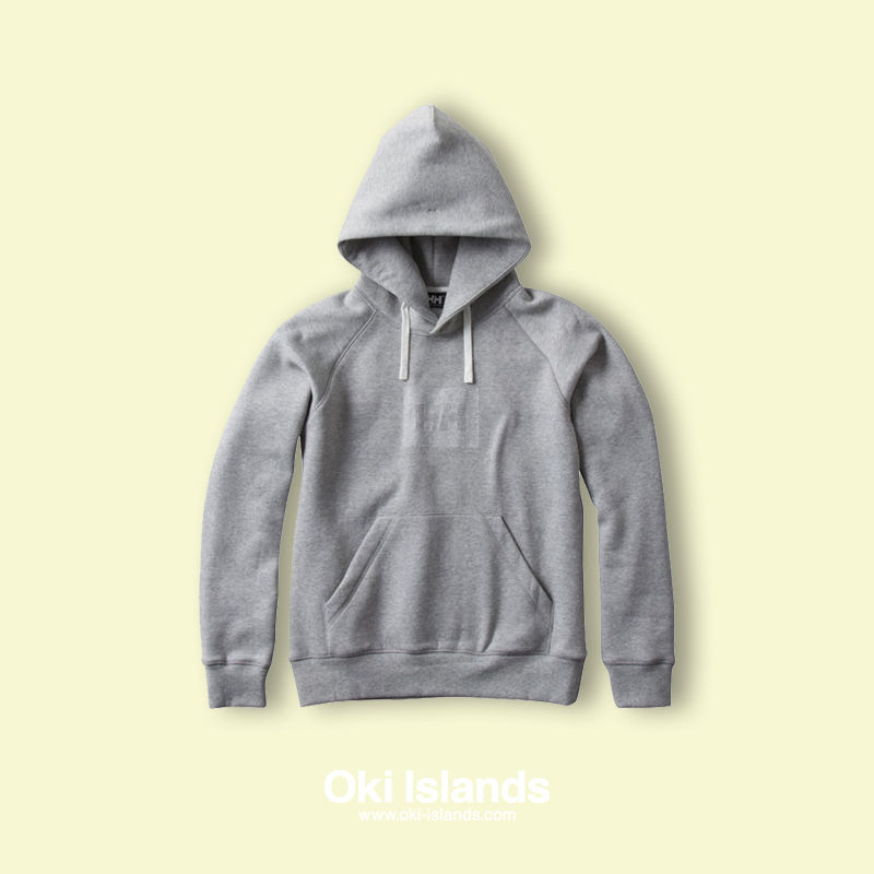 HHLogo Sweat Parka / Oki Islands ミックスグレー(Z)