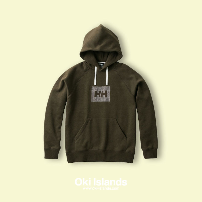 HHLogo Sweat Parka / Oki Islands ミックスシダーグリーン(ZA)