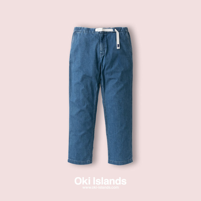 Light Denim Pants / Oki Islands