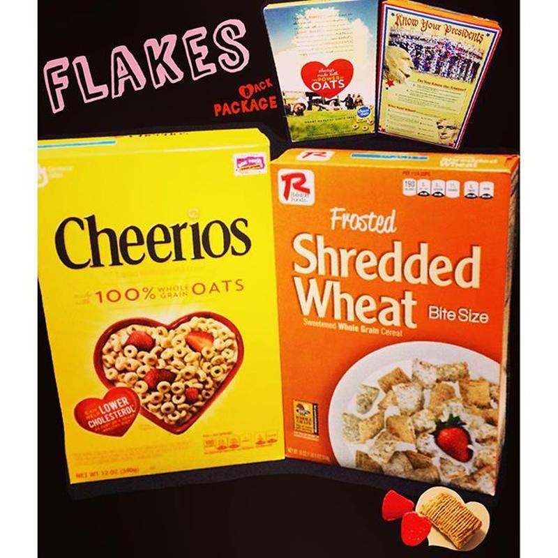 ㊟‼︎オーダ発注商品‼︎㊟Flakes-Cheerios,Shedded Wheat-
