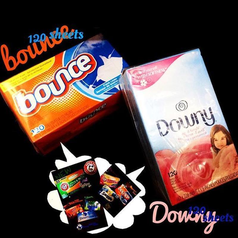 bounce® Downy® 香りシート