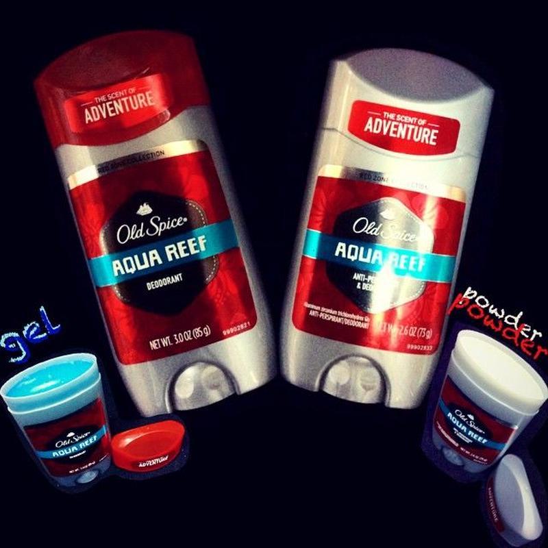 Old Spice® -DEODORANT- AQUA REEF