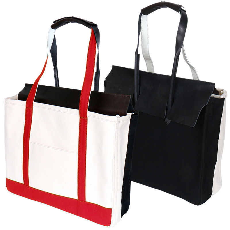OK183-203R【WEB SHOP限定カラー】BIR-BEAN TOTE BAG / RED
