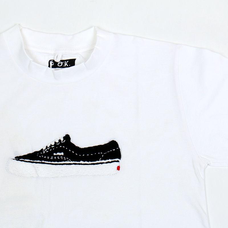 OK173-014SS     ERA(BLACK) TEE(手刺繍)