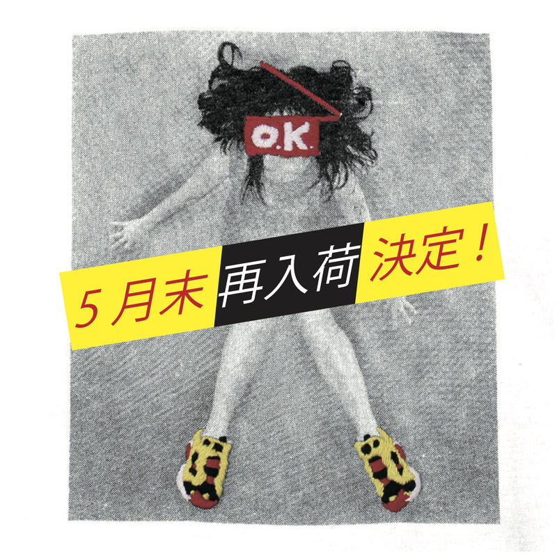OK191-006SS  GIRL with PUMP S/S TEE(フォトプリント×手刺繍)