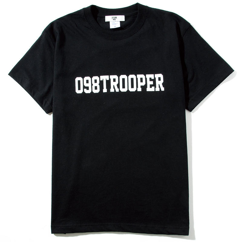 098TROOPERロゴTシャツ(ブラック)