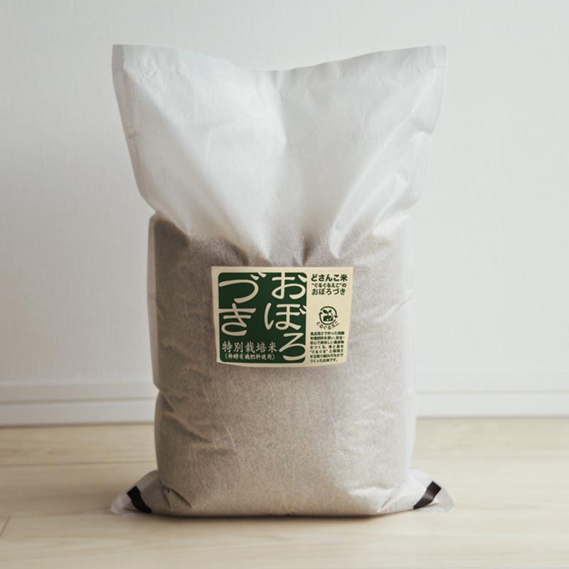 「平成30年北海道産」生産者限定・産直米「今摺米」特別栽培 北海道南幌産 おぼろづき 5kg  玄米