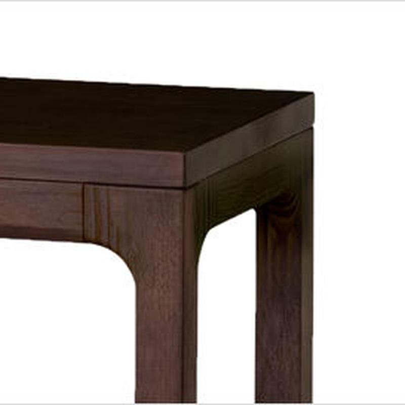 【WOODONE】無垢のテーブル colウォ-ルナット M