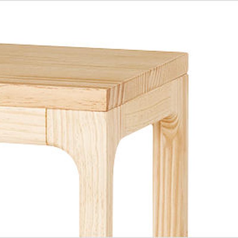 【WOODONE】無垢のテーブル colニュージーパイン M