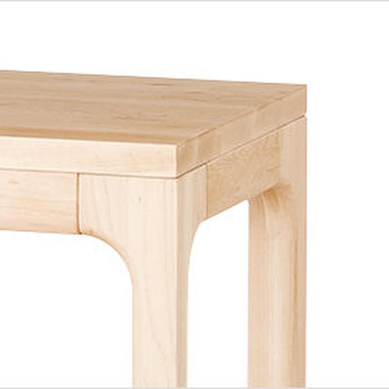 【WOODONE】無垢のテーブル colメープル M